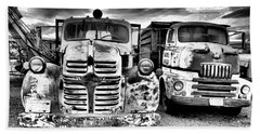 Beach Sheet featuring the photograph Two Old Beauties by Jeff Swan