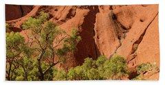 Beach Towel featuring the photograph Uluru 07 by Werner Padarin