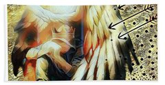 Under His Wings Beach Towel