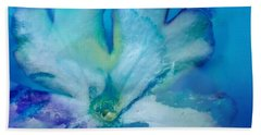 Underwater Flower Abstraction 7 Beach Towel