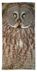 Up Close And Personal Beach Towel by Heather King
