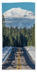 Up To The Mountain Beach Towel