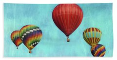Beach Sheet featuring the photograph Up Up And Away 2 by Benanne Stiens