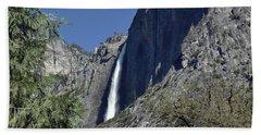 Upper Yosemite Falls Beach Sheet