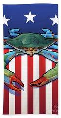Usa Blue Crab Beach Sheet