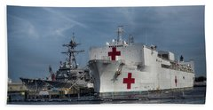 Uss Comfort Beach Towel