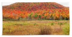 Vermont Foliage 1 Beach Towel