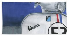 Vespa 53 Beach Sheet