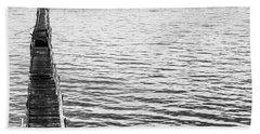 Vintage Marine Scene Beach Towel