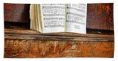 Vintage Piano Beach Sheet