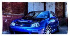 Volkswagen R32 Beach Towel