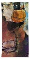 Waiting Beach Sheet by Kathie Chicoine
