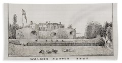 Walmer Castle Kent Beach Sheet