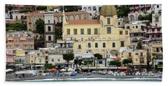 Water Taxi From Amalfi To Positano Beach Towel