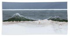 Waves Of Lake Michigan Beach Towel