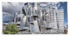 Weisman Art Museum Beach Towel by Steve Lucas