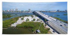 Welcome To Miami Beach Towel