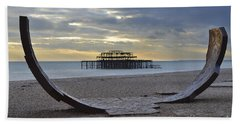 West Pier Brighton Beach Towel