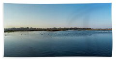 Wetlands Panorama  Beach Sheet