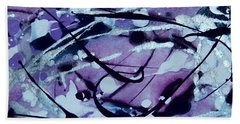 Whimsical Skyscape Beach Towel