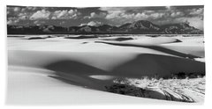 White Sands Afternoon Beach Towel