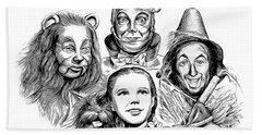 Wizard Of Oz Beach Towel by Greg Joens