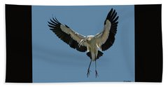 Wood Stork Beach Sheet
