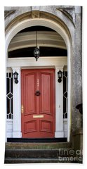 Wooden Door Savannah Beach Towel