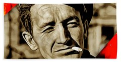 Woody Guthrie Collection Beach Towel