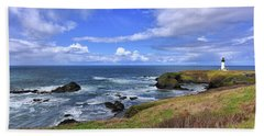 Yaquina Head Lighthouse Beach Sheet