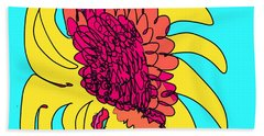 Yes. This Is A Flower, Child Beach Towel