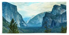 Yosemite Valley Beach Towel