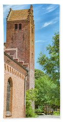 Beach Towel featuring the photograph Ystad Monastery In Sweden by Antony McAulay