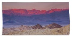 Zabriskie Sunrise Beach Towel