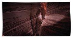 Zebra Canyon Beach Towel