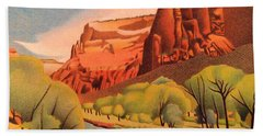 Zion Canyon Beach Towel