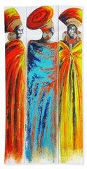 Zulu Ladies 2 Beach Towel
