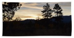 Sunrise Back Country Co Beach Towel