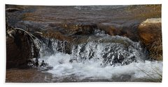 Waterfall Westcliffe Co Beach Towel
