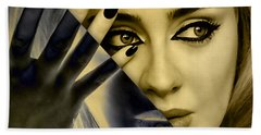 Adele Collection Beach Towel