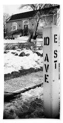 10 Ave And E St Belmar New Jersey Beach Sheet