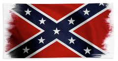 Confederate Flag 10 Beach Towel