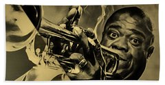 Louis Armstrong Collection Beach Towel