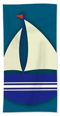 Nautical Collection Beach Towel