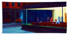 Nighthawks Beach Towel
