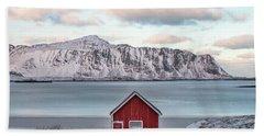 Sund, Lofoten - Norway Beach Towel