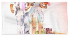 The Wedding Album  Beach Towel