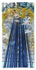 1000 Paper Cranes Beach Sheet