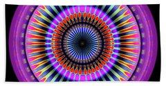 Beach Towel featuring the digital art 101520177 by Visual Artist Frank Bonilla