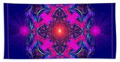 1028 -  A Mandala Purple And Pink 2017 Beach Sheet
